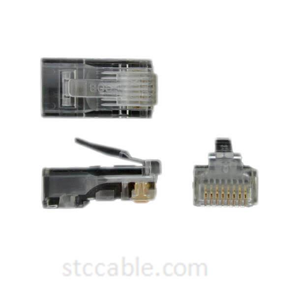 Cat 5e RJ45 Solid Modular Plug Connector