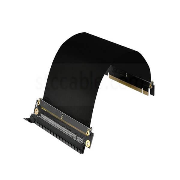 PCI-E 3.0 Gaming PC Modding X16 Riser Cable – Black 25cm