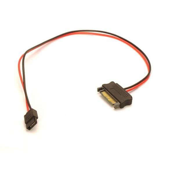 6 Pin Slimline SATA 15 Pin SATA Power Cable