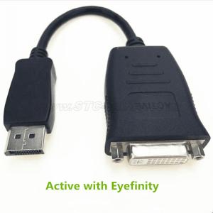 DisplayPort টি সক্রিয় অ্যাডাপ্টার DVI থেকে