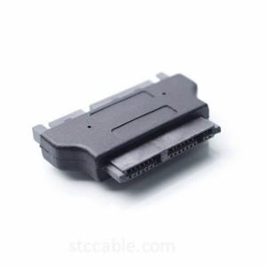 SATA 22P Male to Micro SATA 16P Female Adapter