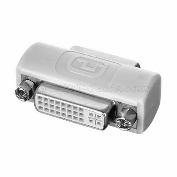 DVI 24+5 Female to DVI 24+5 Female VIDEO Converter Adapter