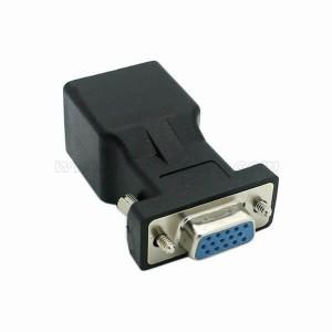 Extender VGA Female to RJ45 Network Adapter