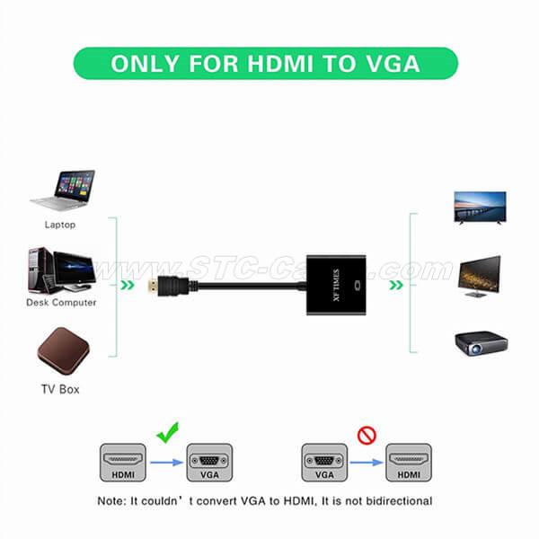 Can you go HDMI to VGA?