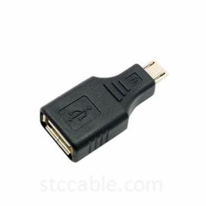 USB Micro USB ба занон OTG ќабулкунанда василаи Connector