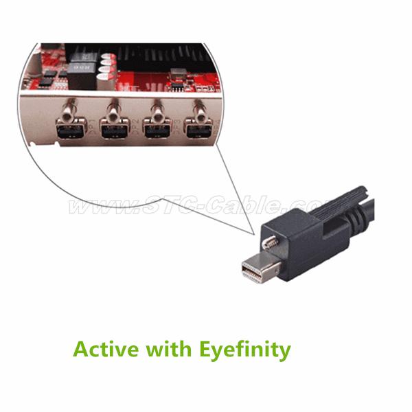VGA Adapter üçün Active Mini DisplayPort - Çin STC