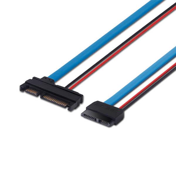 Cheap PriceList for Hdmi To Vga Video Converter - Serial ATA 22Pin Male to Slimline SATA 13Pin Female Converter – STC-CABLE