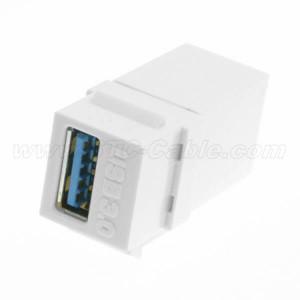 USB 3.0 Keystone Jack Coupler Adapter