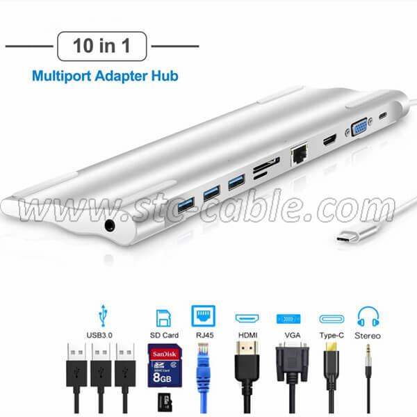 USB C Docking Station for Macbook Pro