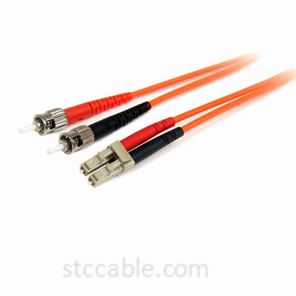 Fiber Optic Cable – Multimode Duplex 62.5/125 – LSZH – LC/ST – 3 m