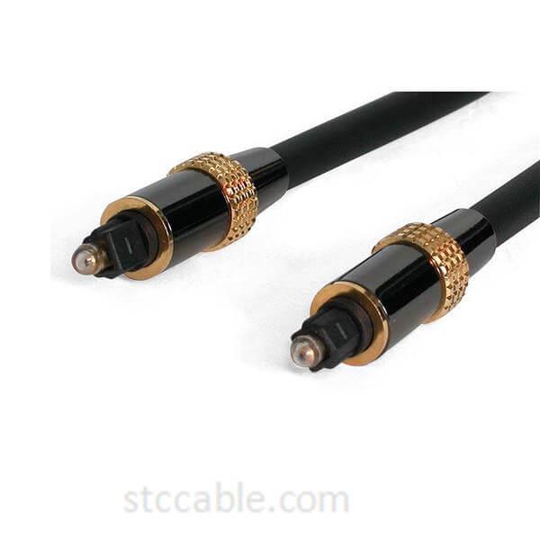 20 ft Premium Toslink Digital Optical SPDIF Audio Cable