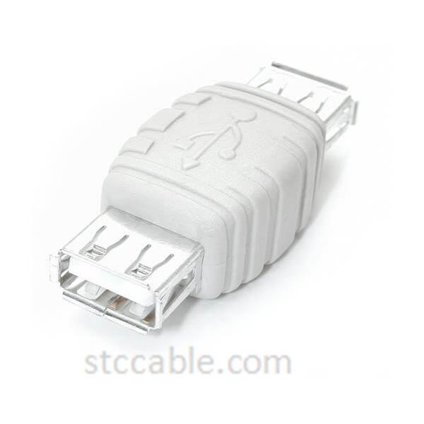 USB A Gender Changer – Female to female